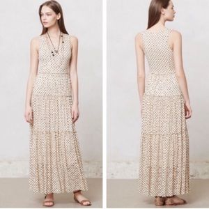 Anthropologie Meadow Rue Marigny Polka Dot Dress